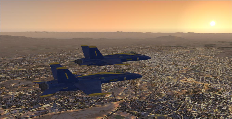 fsx blue angels multimedia